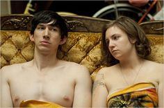 """Adam Driver and Lena Dunham portray the characters of Adam Sackler and Hannah Horvath respectively in the tv show """"Girls"""". Complicated Relationship, Strong Relationship, Relationships, Adam Driver Girls, Lena Dunham Girls, Ridiculous Quotes, Adam Sackler, Girls Hbo, Girls Season"""