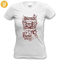 Damen-T-Shirt-Girlie-Shirt :-: Volksfest-Fasching-. Oktoberfest  OutfitKarnevalPartnerKnowsDirndlLadiesBirthday