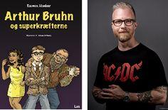 """""""Jeg var gået kold på kun at skrive faglitteratur, jeg har længe drømt om at skrive en børne- og ungdomsbog, siger Rasmus Alenkær. Bogen udkommer i dag."""