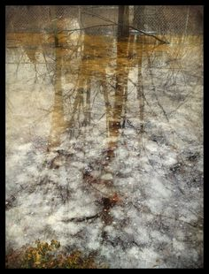 iPhoneography, 3-11-13, Snow Melt III by Armin Mersmann