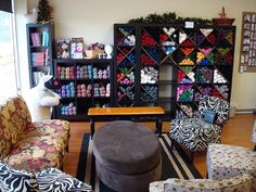 How a yarn store should look The sitting area ..