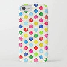 Buy Spotty Pattern iPhone Case by Julscela. Worldwide shipping available at Society6.com. Just one of millions of high quality products available.