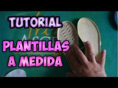 COMO PREPARAR PLANTILLAS PARA ZAPATOS TEJIDOS II ZAPATOS EN CROCHET II - YouTube