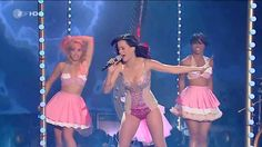 Teenage dream live- Katy Perry This performance made me happy. Love the outfit and the stage.