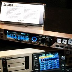 The NEW 64 track solid state recorder by Tascam! DA-6400. #NABShow