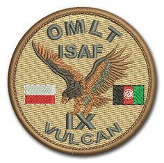 Naszywka OLMT ISAF IX Vulcan