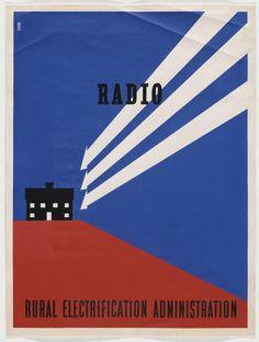 Lester Beall: Radio (1937)