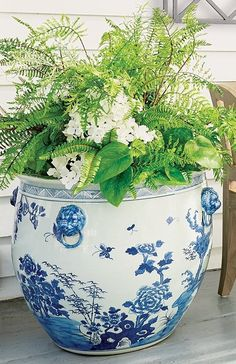 Featuring elegant patterning based on traditional design motifs passed down from antiquity, our Blue Ming Handpainted Ceramic Planters are the perfect addition to your home or garden. Hand-glazed and fashioned from wheel-thrown clay. Garden Oasis, Ceramic Planters, Hand Painted Ceramics, Traditional Design, Clay, Elegant, Ceramic Pots, Hand Painted Pottery, Clays