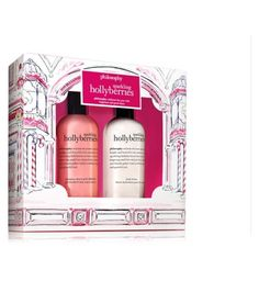 sparking hollyberries bath and body gift set | philosophy |Boots - Boots