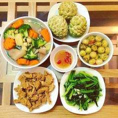 nhung mam com cua vo chong son khien nhieu nguoi phai ao uoc - 3 Paleo Recipes, Asian Recipes, Low Carb Recipes, Ethnic Recipes, Healthy Drinks, Healthy Meals, Healthy Food, Fat Burning Foods, Daily Meals