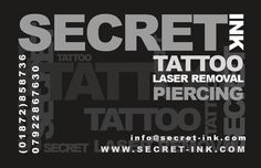 Secret Ink are Cornwall's premier tattooists and piercers. Our friendly and professional staff are there to guide you through the custom tattoo, piercing or laser removal process, to insure you get the best experience possible within the industry. Laser Tattoo, Custom Tattoo, Old Tattoos, Life Tattoos, Piercing Tattoo, Body Piercing, Secret Tattoo, Tattoo Removal Cost