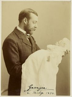 Prince George,the Duke of York, later King George V and his eldest son Prince Edward of York,later King Edward VIII and the Duke of Windsor.