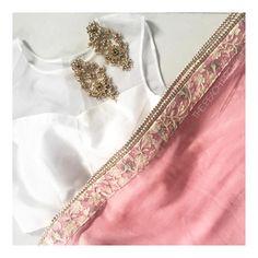 The Sheer Organza Sleeveless Top X The Carrot Bouquet Sari  To order email: ayesha@thepeachproject.in  #sari #croptop #sheerblouse #organza #whiteblouse #sariblouse #sexysari #sexyblouse #carrotpink #sari #thesaristory #dinkishaadi #desibridesmaids101 #desibridesmaids #coralbridesmaids #salmonbridesmaids #pinklove #sherbetpink #americandesi #thepeachproject #indianbridesmaids #desibride #southasianwedding #engagementphotoshoot #registrybride