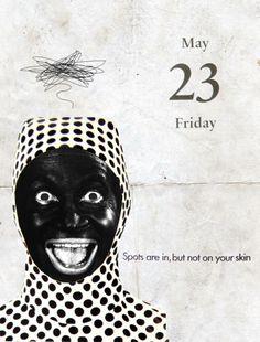 23/05/2014 Punto negro #collage ilustración collage by Gustavo Solana