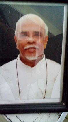Father James, SJ who build graha maria annai Velangkanni