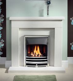 Aurora Slimline Inset Gas Fire, From The Gallery Collection