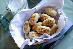 Pineapple Tarts/Pineapple Shortcakes Recipe (凤梨酥/菠萝酥):  In Taiwan, pineapple tarts or 凤梨酥 are exceedingly popular but their pineapple tarts recipe calls for shortening and milk powder and taste slightly different. Because shortening is used in the Taiwanese version, they are also called pineapple shortcakes.