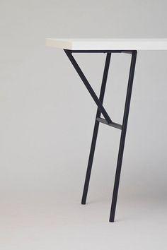 Metal Table Legs van NORDSOP op Etsy