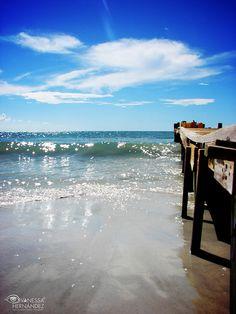 Playa La Punta. Isla de Coche. Venezuela