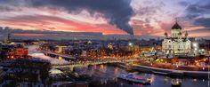 Вечерняя Москва. Зима.