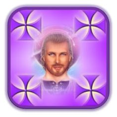 Mestre Saint Germain...Fraternidade Branca: Co-Criando Com Mestre Saint Germain Reiki, Saint Germain, Saints, Lunch Box, Llamas, Archangel, Angels, The World