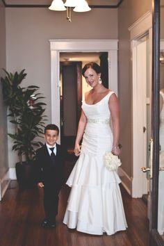 Garden Wedding Fashion   #bridalgown #bridaljewelry   Rebecca Kelly Photography #cjsoffthesquare