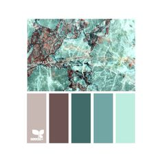 Design Seeds for all who color earthed teal - Polyvore