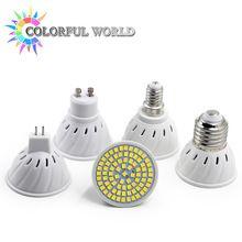 Супер Яркий GU10 MR16 E14 E27 СВЕТОДИОДНЫЙ Прожектор 110 В 220 В 230 В 240 В Светодиодная Лампа База Лампада СВЕТОДИОДНЫЕ Лампы для Дома Люстра