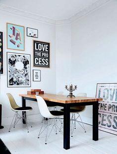 Thuis bij… Kathrine & Thomas. #strong #minimalism