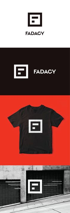 "Logo design for Fadacy, an entertainment and lifestyle brand on the intersection of music, fashion and hip hop. The lettermark symbol has many layers of meaning: it looks like the letter ""F"", a growth trend and like sound bars. Designed by LET'S PANDA studio, Vancouver, Canada."