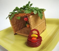 Edible Sukkot, and many other Jewish crafts