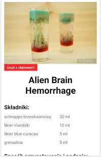 Nasze Drinki – miniaturka zrzutu ekranu