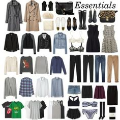 15 Piece Capsule Wardrobe   Travel Sets - Polyvore