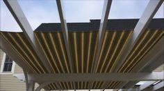 Roll-Flex Retractable Pergola Canopy Retractable Pergola Canopy, Garden Tools, Shades, Youtube, Outdoor Power Equipment, Eyeshadow, Sunglasses
