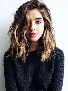 cortes de cabello que no pasan de moda lob messy