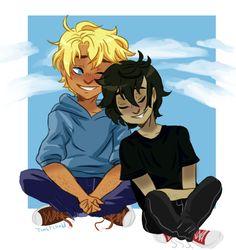 "toastchild: ""Summer-time naps! I felt like drawing the boys again """