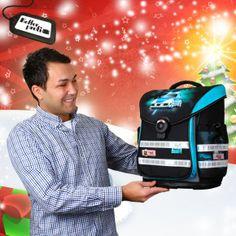 """Die Geschenkempfehlung unseres Produktmanagers David: Der McNeill ERGO Light Plus, weil der McNeill einfach ein """"sehr leichter Ranzen mit tollem Design und zuschaltbarem Blinklicht ist, der Kinderherzen höher schlagen lässt. Der ERGO Light Plus bietet zudem eines der besten Rückensyteme am Markt."""""""