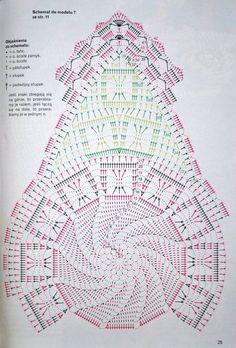Diy Crafts - View album on Yandex. Crochet Doily Diagram, Crochet Mandala, Crochet Stitches Patterns, Crochet Chart, Thread Crochet, Filet Crochet, Crochet Designs, Crochet Table Runner, Crochet Tablecloth