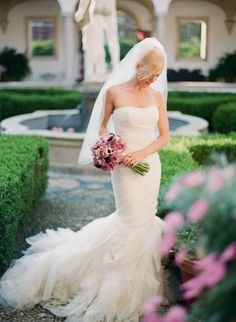 Pretty gown: http://www.stylemepretty.com/little-black-book-blog/2015/03/23/elegant-boysenberry-wedding-at-the-villa-terrace/ | Photography: Lexia Frank - http://www.lexiafrank.com/