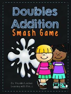 Doubles Addition Smash is a hands on activity to get your students practicing their addition double facts.  This activity can be played individually, as a group, or make a great activity for your math center.  Included in this download is doubles flashcards 1-12, game board, and a smash hitter.