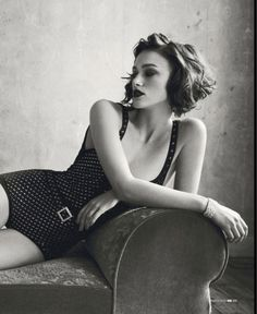 Keira Knightley photographed by Norman Jean Roy for GQ UK, March 2012