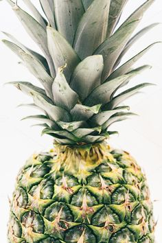 Pineapple Close-Up by Pineapple Shop on @creativemarket