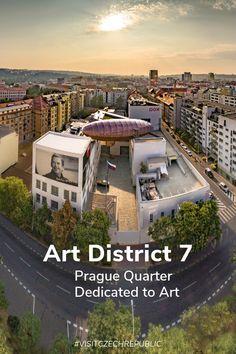 Visit the Prague quarter dedicated to art, culture, creativity, and bohemian lifestyles.  #visitczechrepublic #likeaczech #summer #czechsummer #prague #holesovice #praha7 #dox #hiddengems