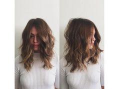 Découvrez 10 Casual Style De Cheveux Mi-longs | Coiffure simple et facile