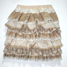 Ruffled skirt tutorial - clearest I've found