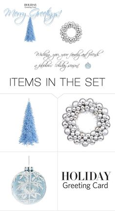 """Merry Greetings!"" by sophiasuarezlightfoot on Polyvore featuring art, holidaygreetingcard and PVStyleInsiders"