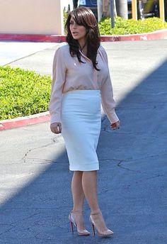 Kim Kardashian - sexy outfit... - Kim Kardashian Style