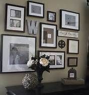 Photo Wall Ideas - Bing Images