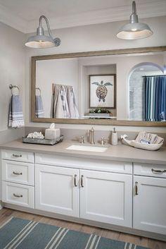 Lake house bathroom photo 2 of 7 coastal bathroom ideas 2 best coastal bathrooms ideas on . Coastal Bathroom Decor, Nautical Bathroom Design Ideas, Beach House Bathroom, Rustic Bathroom Vanities, Nautical Bathrooms, Beach Bathrooms, Rustic Bathrooms, Modern Bathroom Design, Bathroom Colors