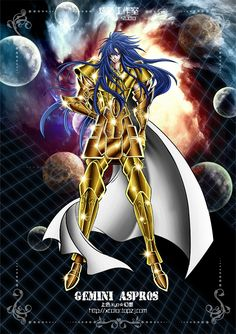 Saint Seiya - The Lost Canvas - Gemini Aspros